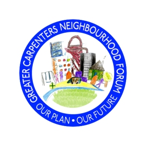 Greater Carpenter neighbourhood forum, our plan, our future logo