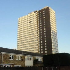 Carpenters Estate tower block