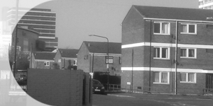 Carpenters Estate black and white