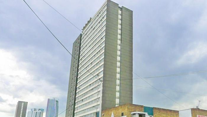Carpenters Estate tower block