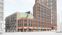 Replacement proposal for Duncan House on the Carpenters Estate
